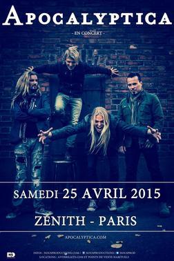 Apocalyptica @ Paris