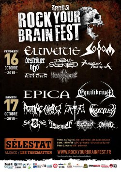 ROCK YOUR BRAIN @ Sélestat