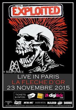 The Exploited @ Paris