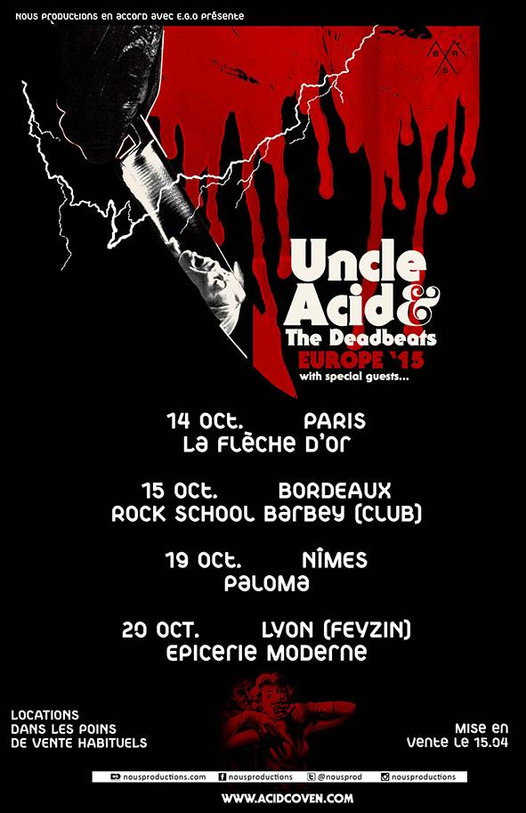 Uncle Acid & The Deadbeats @ Feyzin